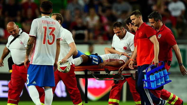 Zobnin injury mars Russia's Confed Cup warm-up win in Hungary