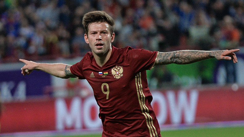 Hitman Smolov aiming to fire Russia to Confed Cup glory