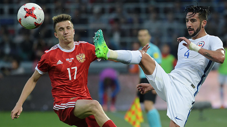 Russia 1-1 Chile: Stalemate in Moscow in pre-Confed Cup friendly