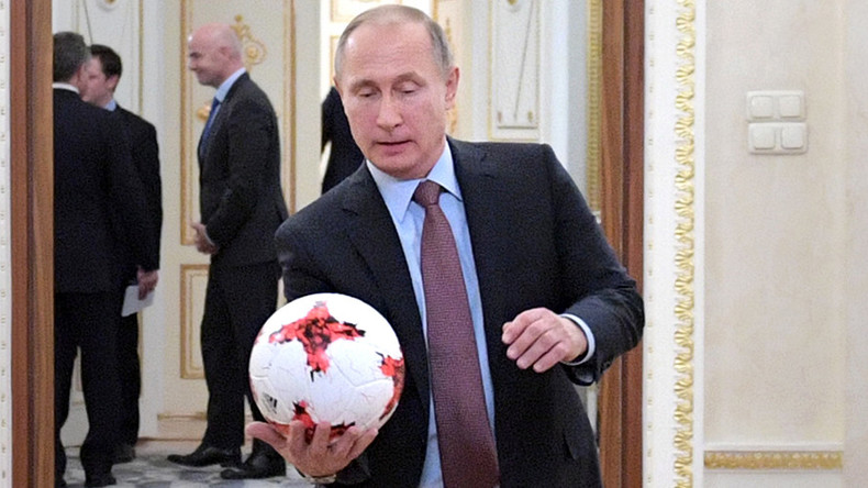Putin to attend Confed Cup opener in St. Petersburg