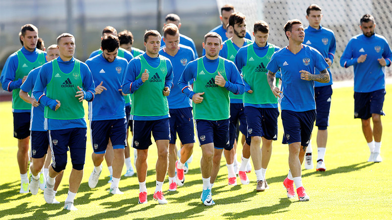 Russian Federation  readies for Confederations Cup