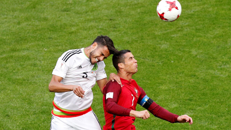 Portugal 2-2 Mexico: Confed Cup Group A opponents meet in Kazan