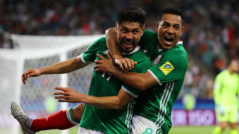 Mexico 2-1 New Zealand: Gold Cup winners survive scare to see off spirited All Whites