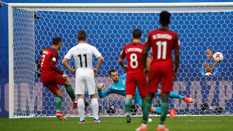 New Zealand 0-4 Portugal: European champs cruise into Confed Cup semifinals