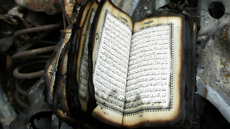 Korans burned, torn & stuffed with bacon in 2 suspected hate crimes in California