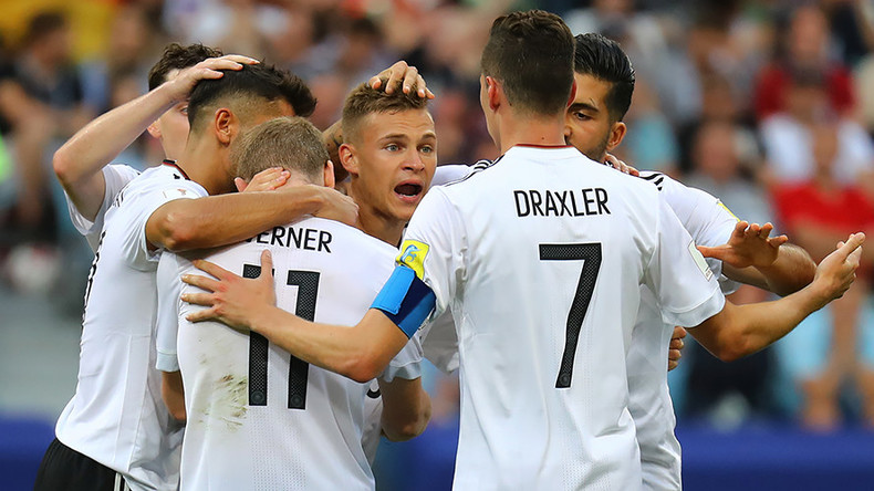 Werner brace fires Germany into semis against Mexico