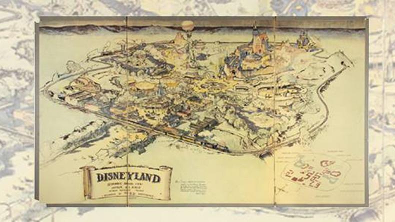 Original map of Disneyland sold for $708,000