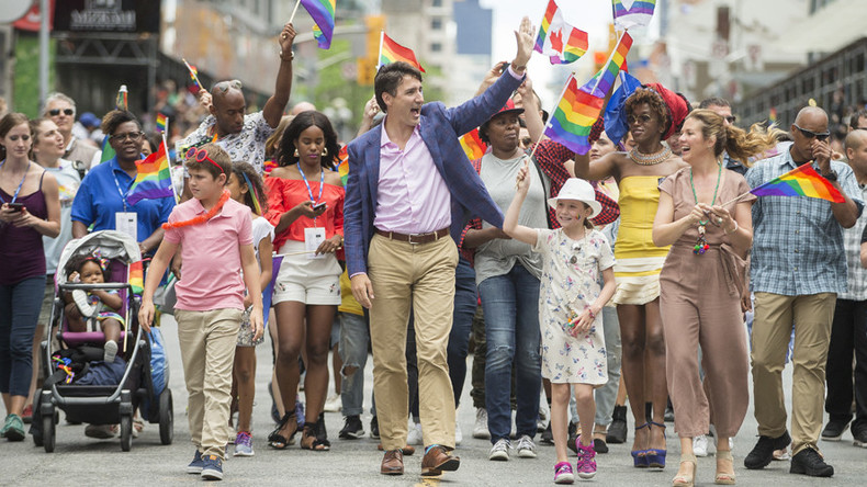 Trudeau Celebrates Multiple Layers Of Identities With -8184