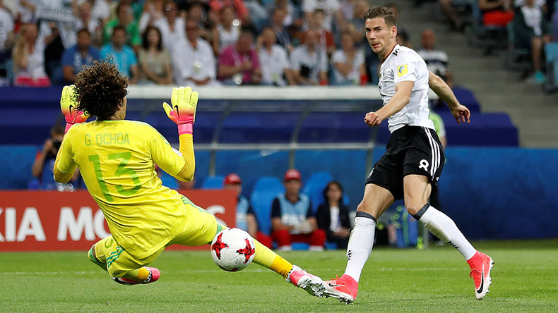 Germany 4-1 Mexico: World champs into Confed Cup final (as it happened)