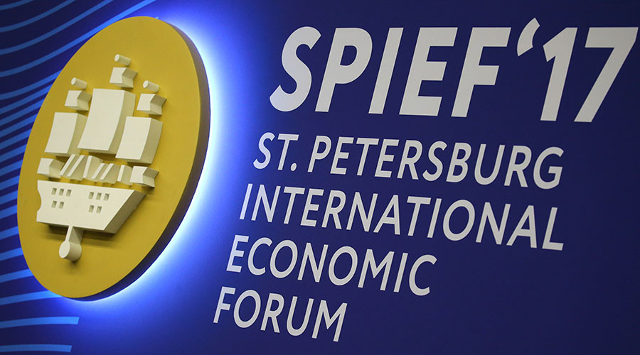 Day two of the St. Petersburg International Economic Forum 2017