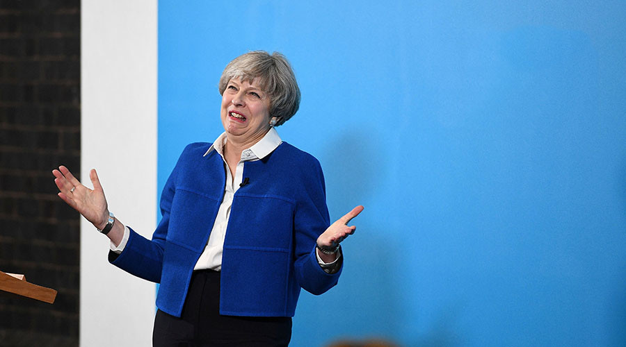 '3 mins of nothing': Local newspaper reporter left unimpressed by Theresa May interview