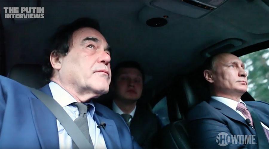 """""""Svět podle Putina"""" - třetí díl čtyřdílného dokumentu amerického režiséra Olivera Stonea"""
