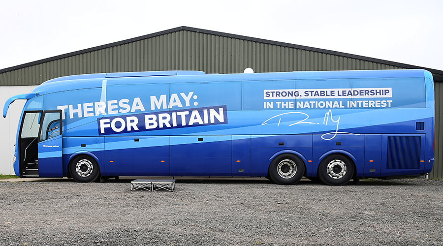 Tory charged over 2015 election expenses... just a week before Britain votes