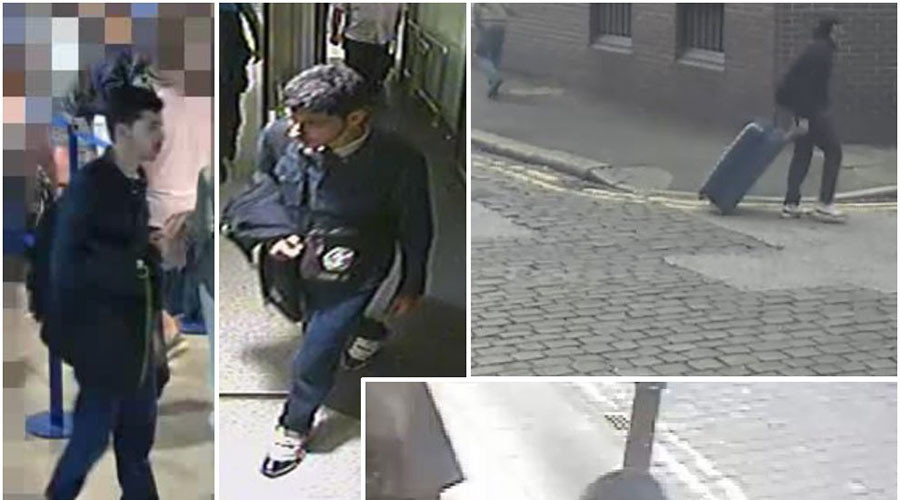 CCTV footage released of Manchester suicide bomber Salman Abedi (VIDEO)