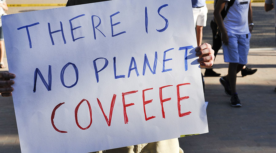 'Covfefe™': Russian company seeks to trademark Trump-ism