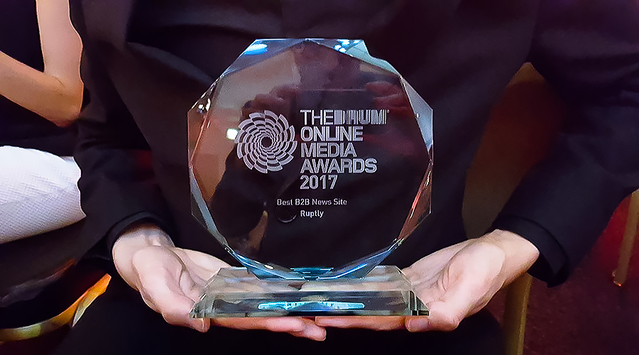 RT's Ruptly video agency receives award for achievements in international online journalism