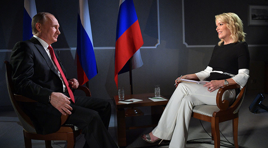 Putin to NBC host: 'You and I have a much closer relationship than I had with Mr. Flynn'
