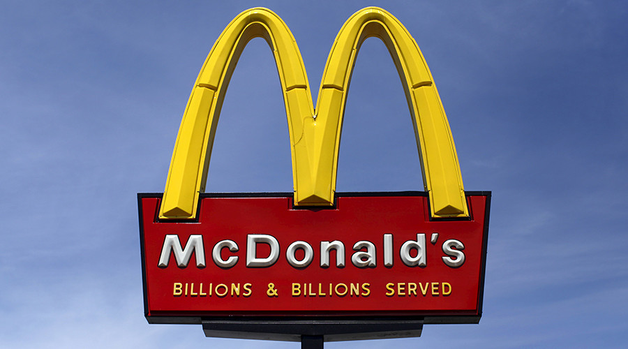 'You can't make my f***ing McChicken': Crazy fast food brawl erupts over burger (VIDEO)