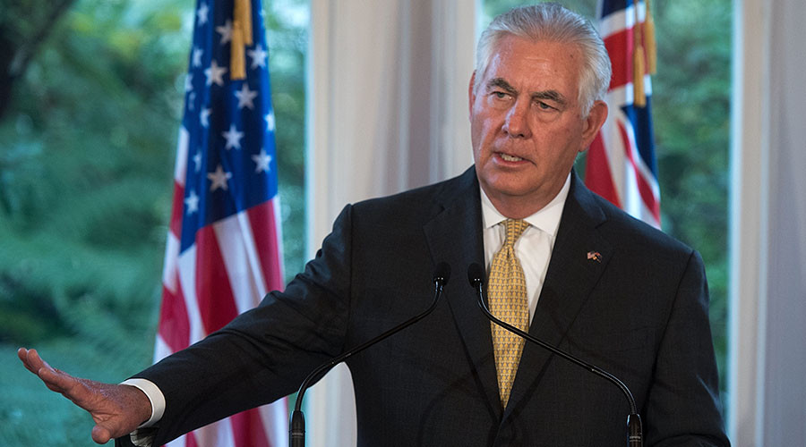 Trump was clear I should try & restore US-Russia ties – Tillerson
