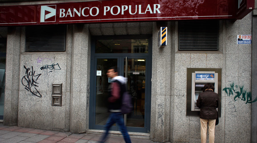 Failing Spanish bank sold for €1