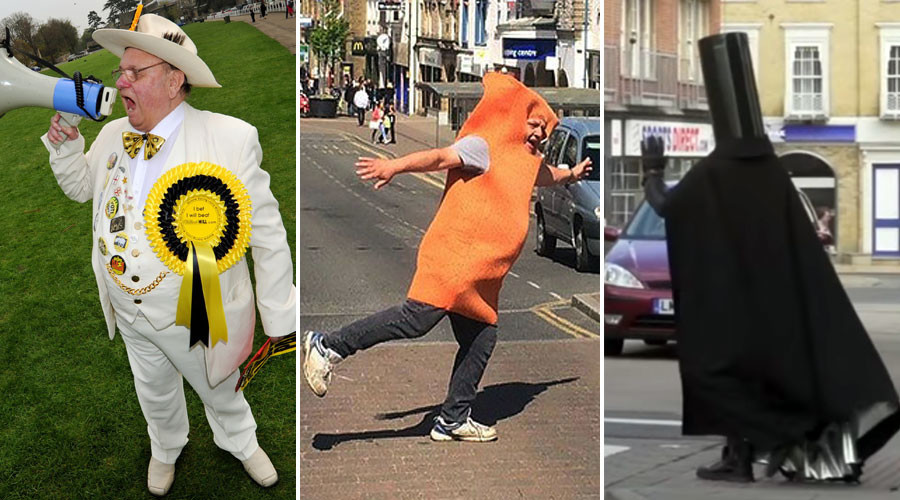 Monsters, fish fingers & space lords: 5 of the weirdest candidates standing in UK general election