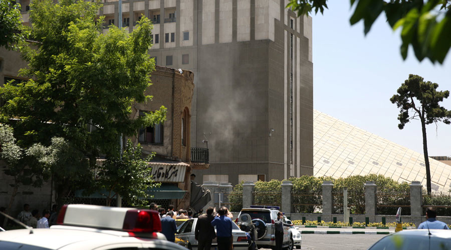 Iran's Revolutionary Guards blame Saudis for Tehran attacks, Riyadh rejects accusation