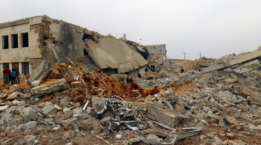 Military probe finds mistakes in US airstrike on Syrian mosque, declares it 'blow to al-Qaeda'
