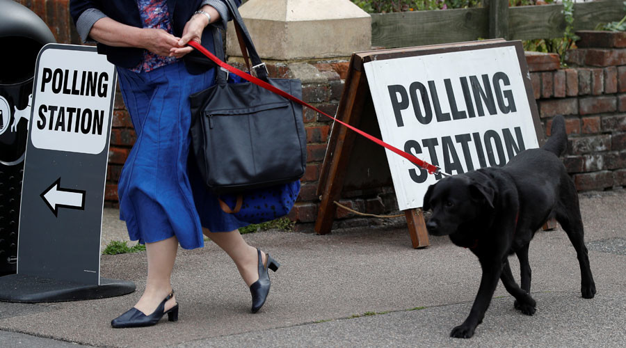 #DogsAtPollingStations may be best thing about UK General Election