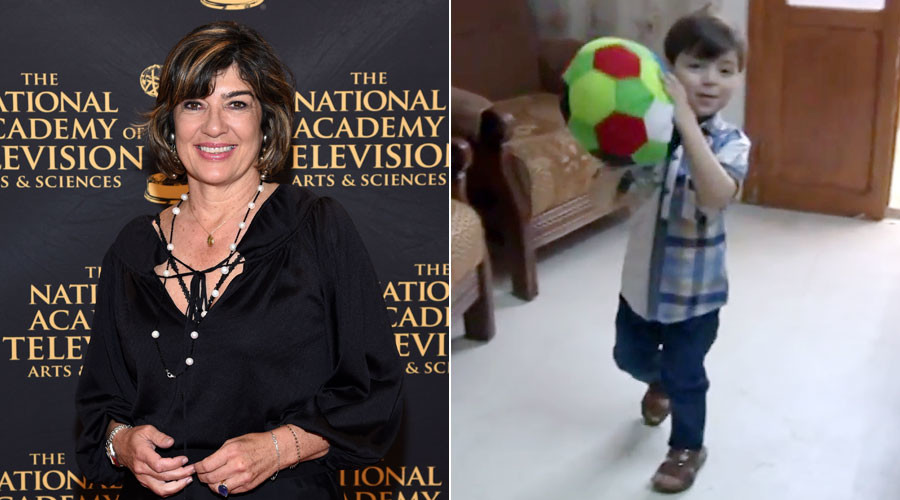 CNN's Amanpour challenged to go talk to 'Aleppo boy'
