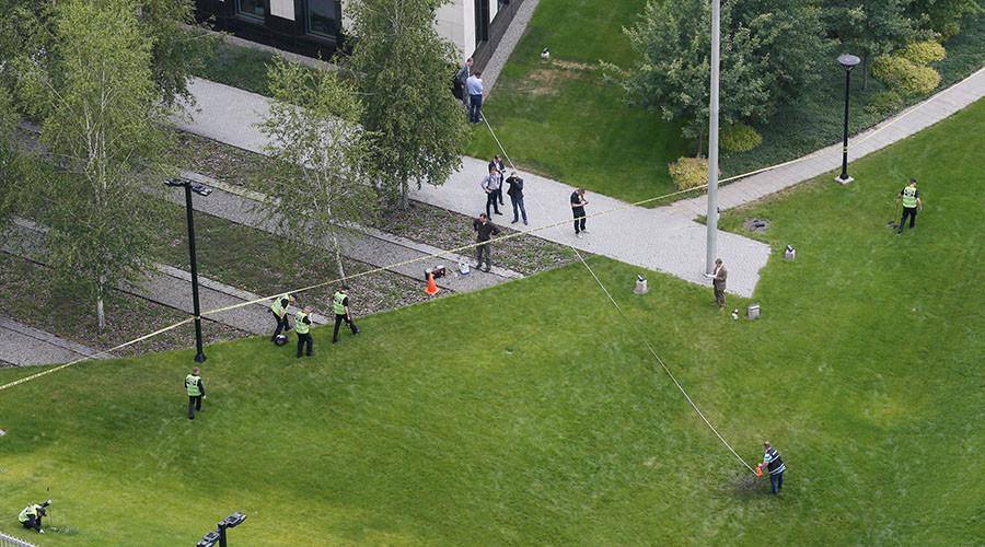 Blast hits US embassy grounds in Ukrainian capital, no casualties – police