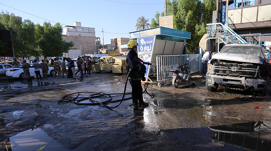 Twin ISIS suicide bombings kill at least 30, injure up to 40 in Iraq (GRAPHIC VIDEO)