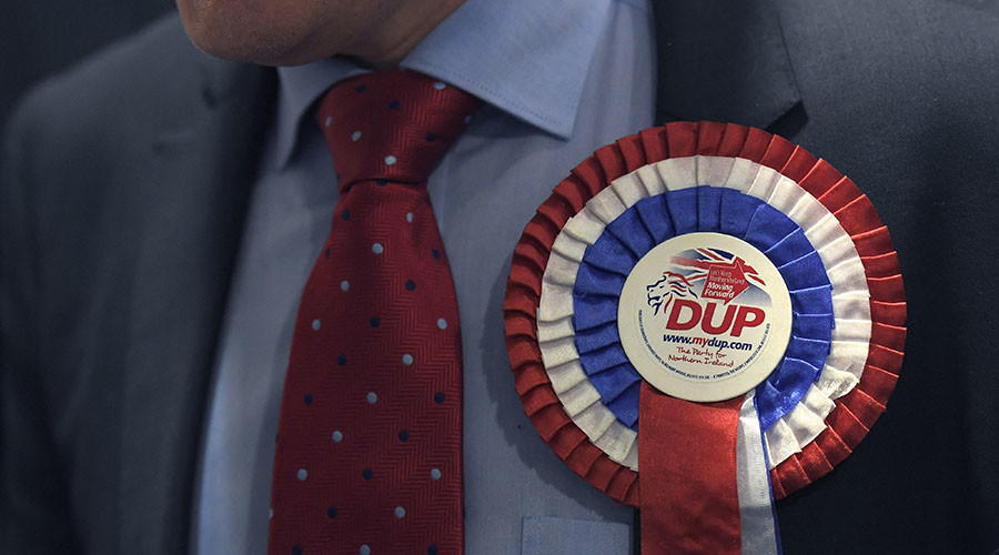 Who is the DUP? A brief history of UK parliament's new kingmaker