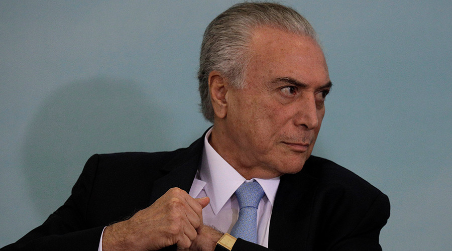 Top Brazil court leaves President Temer in office over alleged illegal 2014 campaign funds