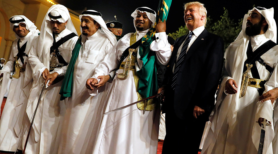 'Strange, Trump slams Qatar for 'supporting terrorism,' yet gives Saudis a blank check'