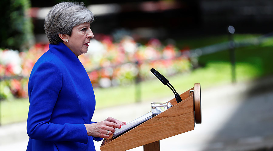 HUNG PARLIAMENT: Theresa May forms a government with DUP support