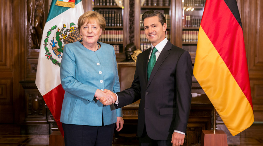 'As Trump talks protectionism, Germany looking for piece of giant Mexican pie'