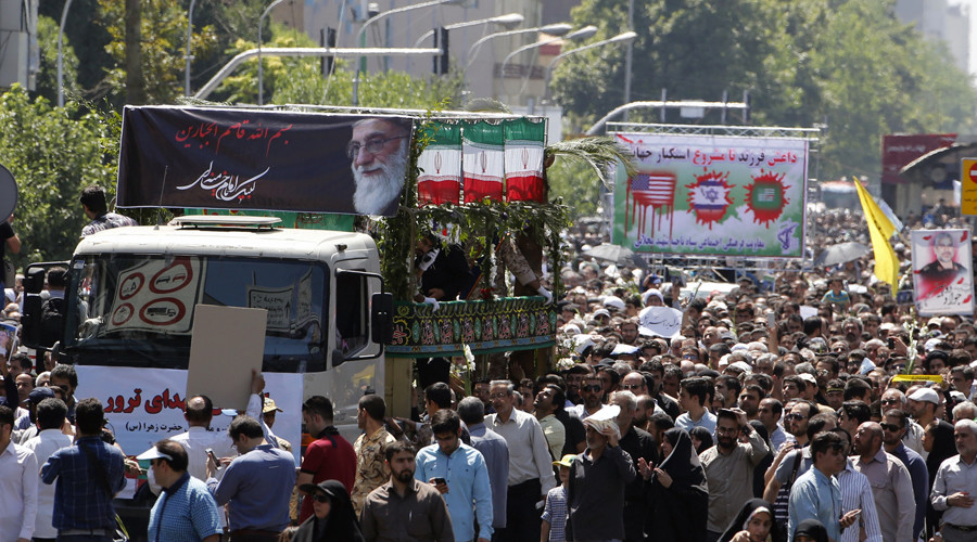 Iran accuses US of alliance with ISIS, claims to have proof