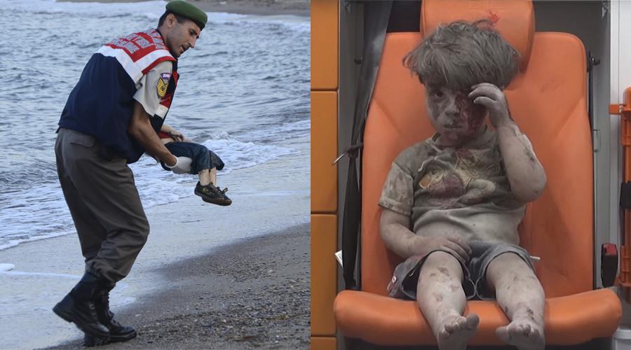 Meet Aylan & Omran: Child victims used for Syrian war propaganda