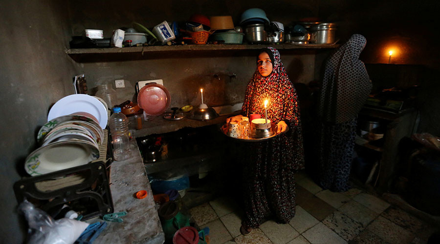 Image result for gaza electricity cut