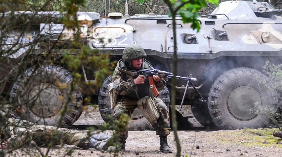 Russian, Belarusian & Serbian troops crush 'terrorists' in joint drills (VIDEOS, PHOTOS)