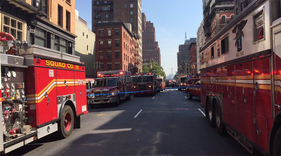 At least 32 injured in NYC carbon monoxide leak (PHOTOS)