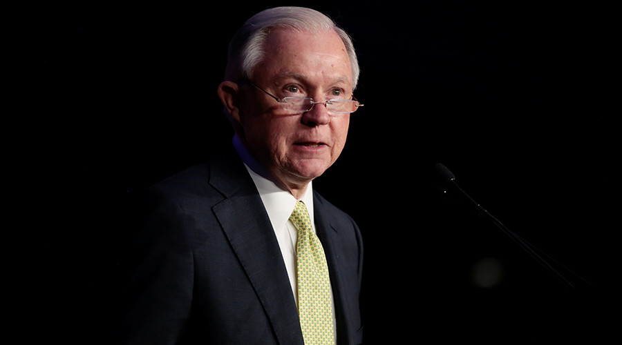 'Detestable lie': Attorney General Sessions rejects charges of collusion with Russia