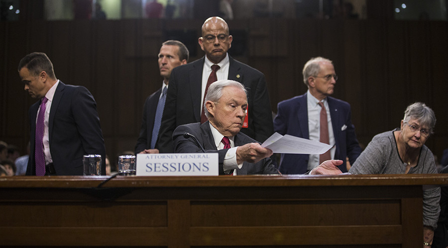 Attorney-General Jeff Sessions mocked online for 'amnesia' in Russia probe testimony