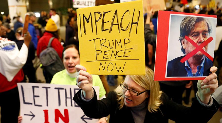 Democrats squabble behind closed doors over Trump impeachment plan