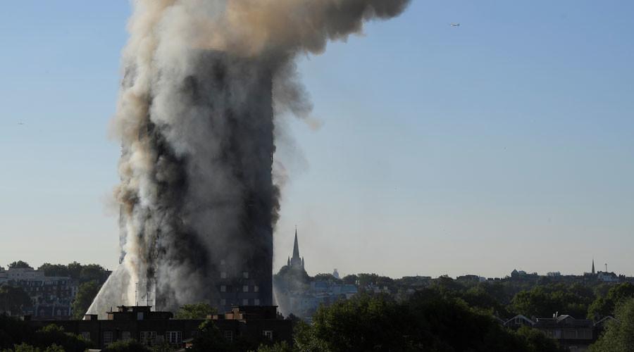 West London Grenfell Tower fire