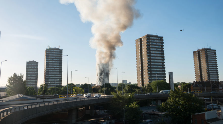 London tower block inferno: How events unfolded