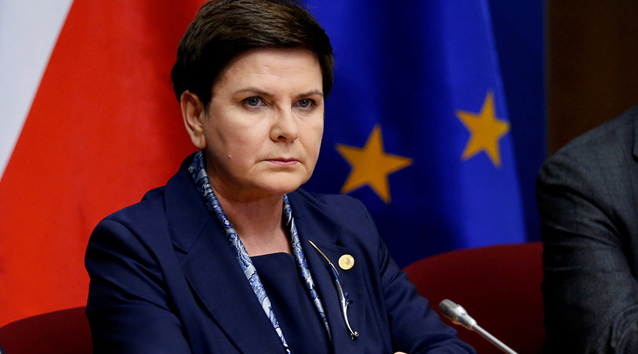 Polish PM's Auschwitz statement, perceived as anti-migrant, lands her in hot water