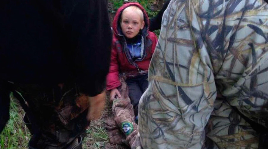 'He drank swamp water & ate grass': 4yo boy found alive after 4 days in woods