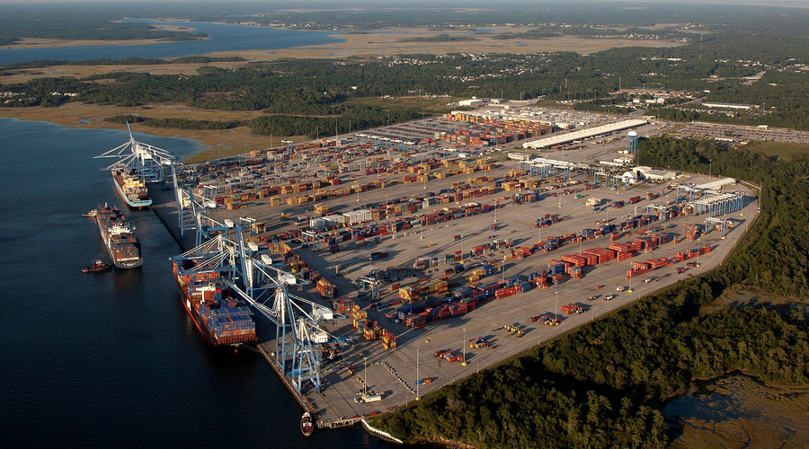 S. Carolina port terminal evacuated over 'dirty bomb' fears