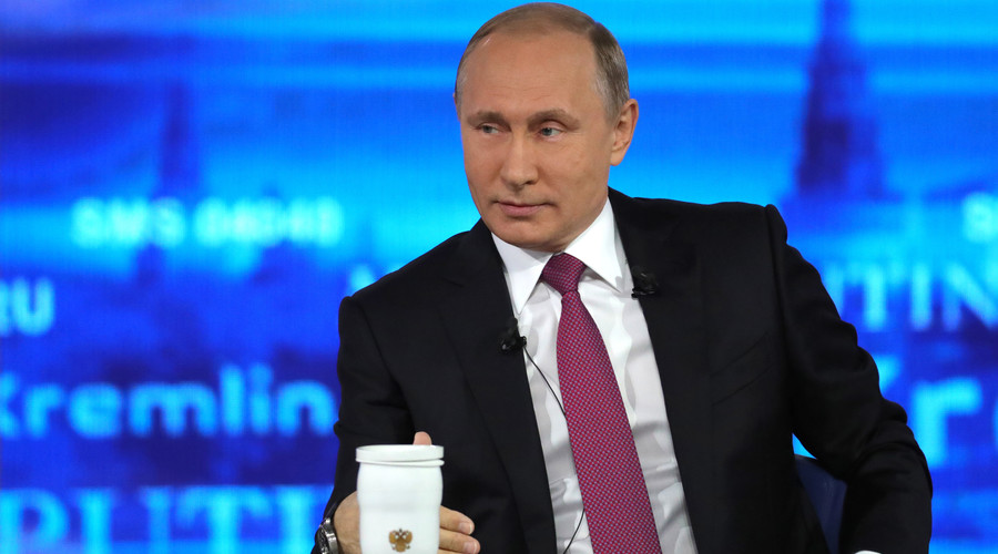 Putin talking: Russian president holds annual Q&A